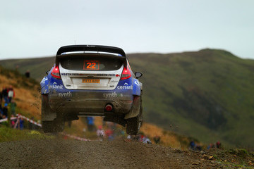 Michal Solowow FIA World Rally Championship Great Britain: Day 2