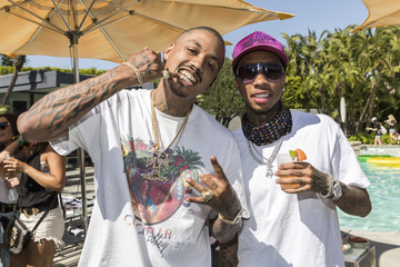 Micheal Ray Stevenson Interscope Coachella House 2017