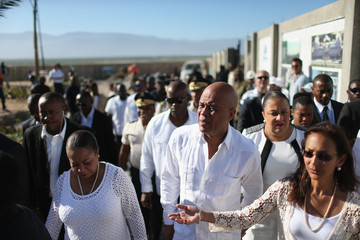 Michel Martelly Five Years After Haiti's Devastating Earthquake, Impoverished Country Continues Slow Recovery