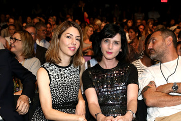 Photo of Sofia Coppola & her friend model  Michelle Hicks -