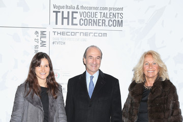 Michele Norsa Arrivals at the Vogue Talents Corner