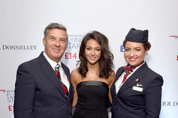Michelle Keegan British Airways Flying Start
