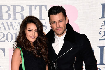 Michelle Keegan Mark Wright Arrivals at the BRIT Awards