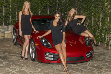 Michelle Mclaughlin Porsche and Playboy Host a Party in Beverly Hills