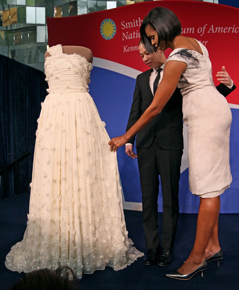 Michelle Obama and Jason Wu Photos Photos - First Lady Michelle ...