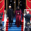 Michelle Obama Joe Biden Sworn In As 46th President Of The United States At U.S. Capitol Inauguration Ceremony
