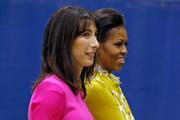 Michelle Obama and Samantha Cameron Photos Photo