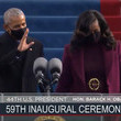 Michelle Obama Joseph Biden Is Sworn In As 46th President Of The United States