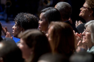 Michelle Obama White House Hosts PBS 'In Concert' Performance