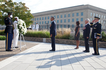 Michelle Obama President Obama Marks Anniversary Of September 11th Attacks At The Pentagon