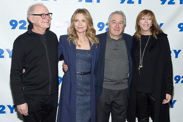 Michelle Pfeiffer The Hollywood Reporter TV Talks and 92Y Present HBO Films' 'The Wizard of Lies'