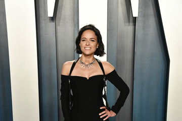 Michelle Rodriguez 2020 Vanity Fair Oscar Party Hosted By Radhika Jones - Arrivals