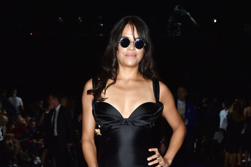Michelle Rodriguez DSquared2 - Front Row - Milan Fashion Week SS16