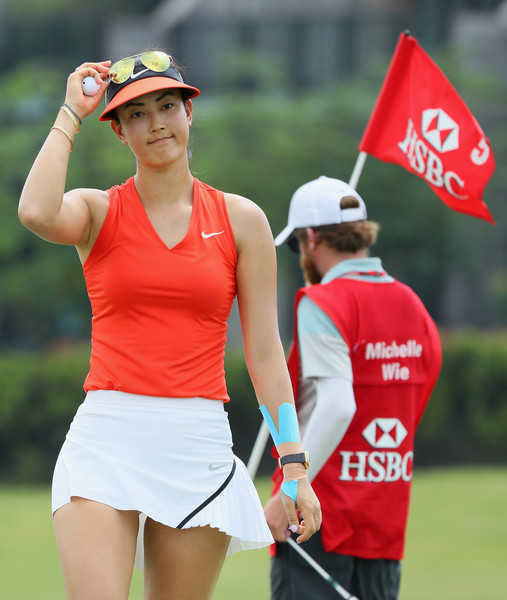 Image result for Michelle Wie wins hsbc