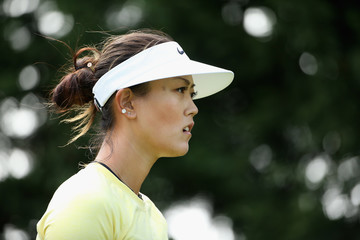 Michelle Wie Swinging Skirts LPGA Classic - Round One
