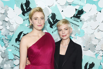 Michelle Williams Tiffany & Co. Paper Flowers Event And Believe In Dreams Campaign Launch