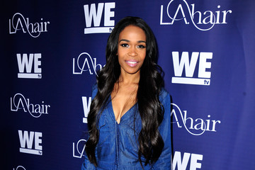 Michelle Williams Celebrities Attend WE tv's 'LA Hair' Season 4 Premiere Party