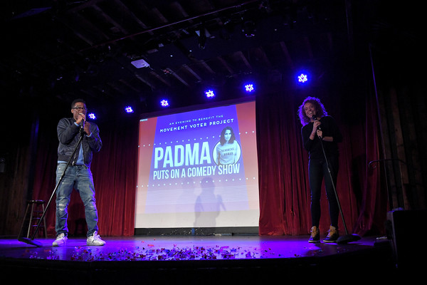 Padma Lakshmi Hosts A Charity Comedy Show To Benefit The Movement Voter Project