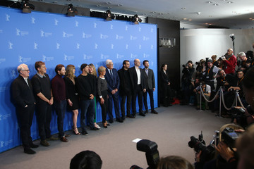 Michelle Wright '7 Days in Entebbe' Photo Call - 68th Berlinale International Film Festival