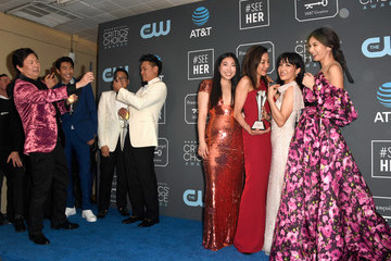 Michelle Yeoh Awkwafina The 24th Annual Critics' Choice Awards - Press Room