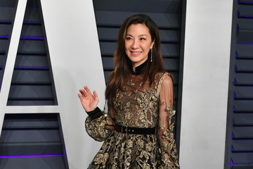 Michelle Yeoh 2019 Vanity Fair Oscar Party Hosted By Radhika Jones - Arrivals