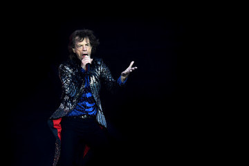 Mick Jagger The Rolling Stones 'No Filter' Tour Opening Night At Croke Park In Dublin