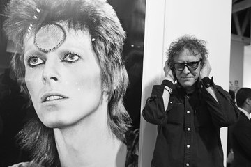 Mick Rock TASCHEN Gallery Opening Reception for 'Mick Rock: Shooting For Stardust - The Rise Of David Bowie & Co.'