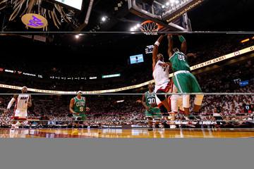 Mickael Pietrus Boston Celtics v Miami Heat - Game Five