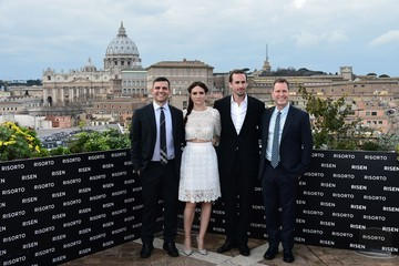 Mickey Liddell 'Risen' Photocall in Rome