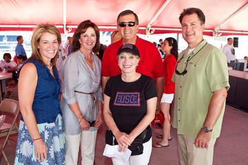 "Teresa Carlson Microsoft & USO Host ""A Salute to Our Troops"" Event at Nationals Park"