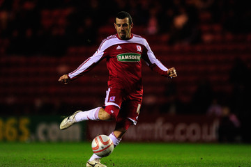 Julio Arca Middlesbrough v Barnsley - npower Championship