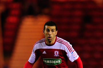Julio Arca Middlesbrough v Doncaster Rovers - npower Championship