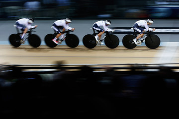 Mieke Kroeger UCI Track Cycling World Championships - Day One