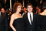 (L-R) Director Valeria Golino and actor Libero De Rienzo attend the Premiere of 'Miele' (A Touch of Sin) during The 66th Annual Cannes Film Festival at Palais des Festivals on May 17, 2013 in Cannes, France.