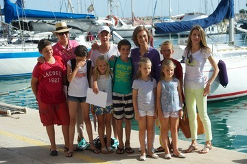Miguel Urdangarin Spanish Royals At The Calanova Nautic Club In Mallorca