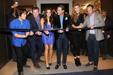 Miguel Ángel Flores Shay Mitchell Celebrates the American Eagle Mexico City Store Opening