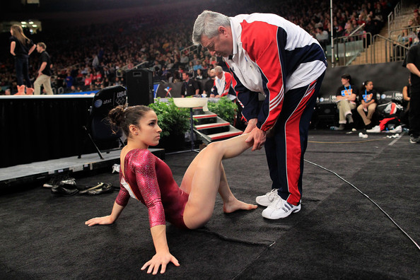 Aly Raisman And Mihai Brestyan Photos 2012 At Amp T American
