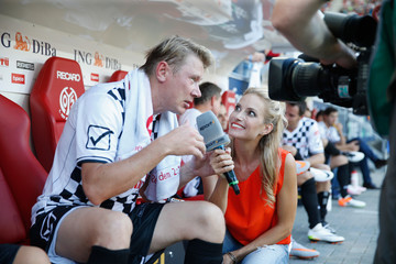 Mika Hakkinen 'Champions for Charity' Football Match in Mainz