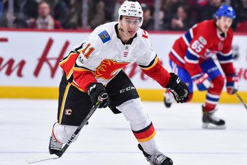 Mikael Backlund Calgary Flames v Montreal Canadiens