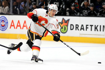 Mikael Backlund Calgary Flames v Los Angeles Kings