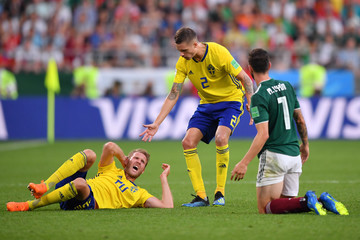 Mikael Lustig Mexico Vs. Sweden: Group F - 2018 FIFA World Cup Russia