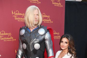 Mikaela Hoover Marvel Wax Figures Unveiled in Hollywood