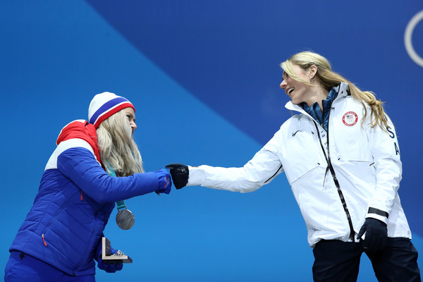 Medal Ceremony - Winter Olympics Day 6 []