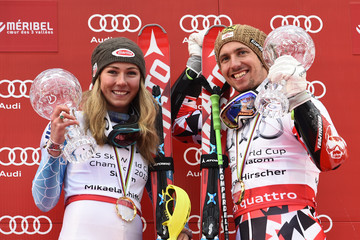 Mikaela Shiffrin Audi FIS Alpine Ski World Cup - Men's Giant Slalom