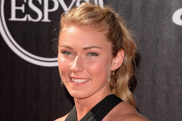 Mikaela Shiffrin Arrivals at the ESPYS — Part 4