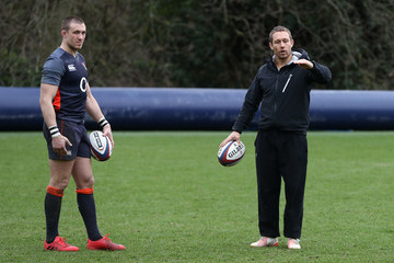 Mike Brown England Training Session