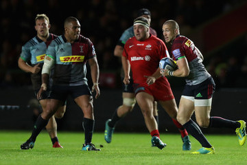 Mike Brown Harlequins vs. Saracens - Gallagher Premiership Rugby