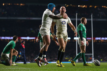 Mike Brown Jack Nowell England v Ireland - RBS Six Nations