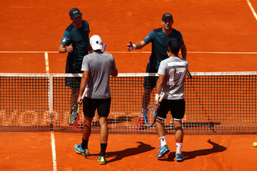 Mike Bryan ATP Masters Series: Monte Carlo Rolex Masters - Day Seven