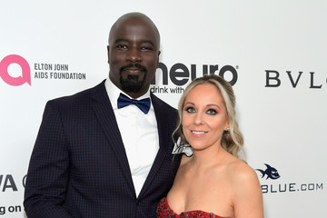 Mike Colter 25th Annual Elton John AIDS Foundation's Oscar Viewing Party With Cocktails by Clase Azul Tequila and Chopin Vodka